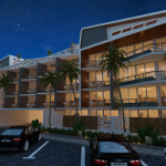 Oceana residence - Koh Samui condo - night view